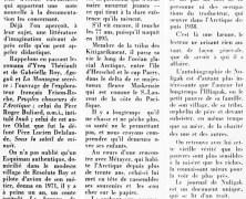 »Un Esquimau écrit ses mémoires, qui sont traduits en français»