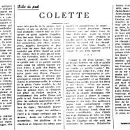 «Colette»