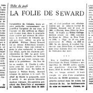 «La folie de Seward»