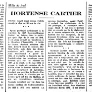 «Hortense Cartier»