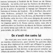 «La population de Louiseville et Me Germain Gagnon; On n'avait rien contre lui»