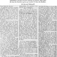 «Me Daniel Johnson insiste sur l' œuvre de l'Union nationale dans chaque paroisse de Bagot»