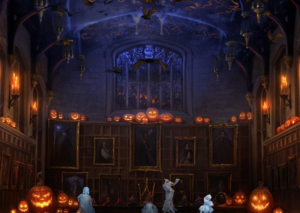 Hogwarts Halloween Feast Audio Atmosphere