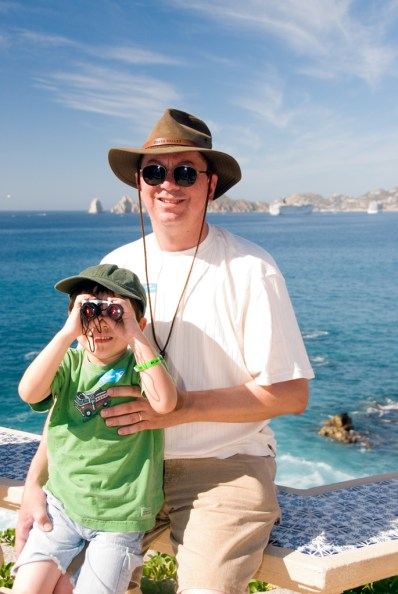 Harry and Kai at Cabo San Lucas