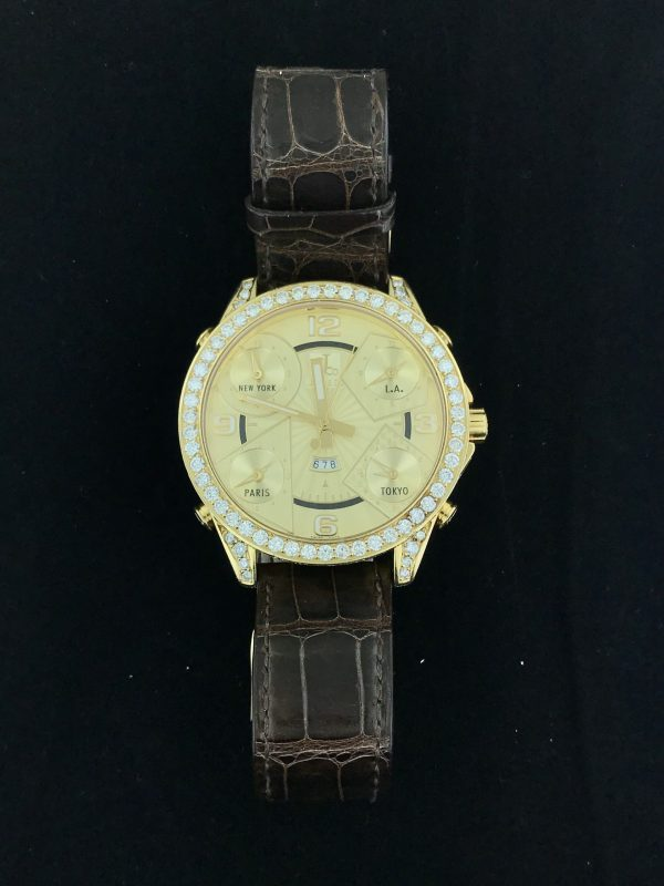 Harry Glinberg Watches - Jacob & Co. World Time