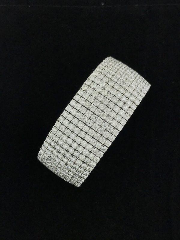 Harry Glinberg Jewelers - 18K Fancy Diamond Bracelet