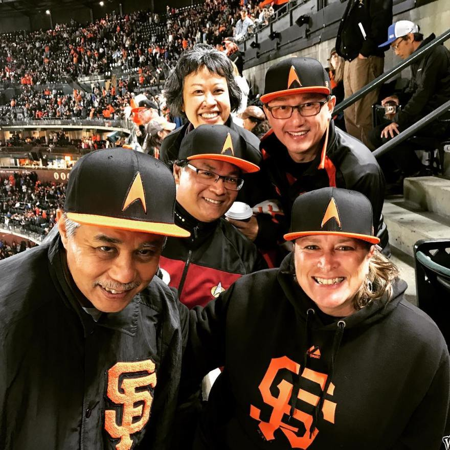 Giants Star Trek night 2018