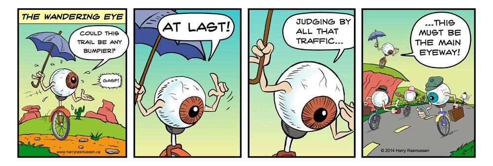 Introducing The Wandering Eye