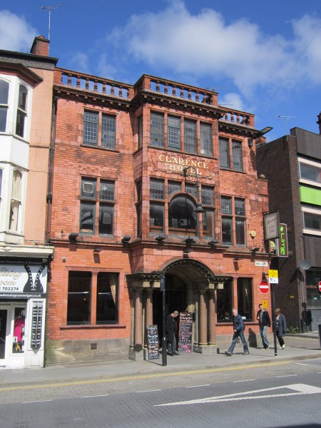 Front of Harry's Bar Wigan