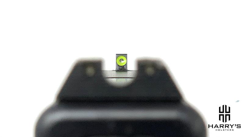Glock 19 vs Glock 43 19 sights