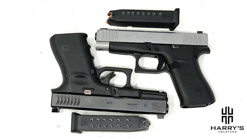 Glock 19 vs Glock 48 with magazines