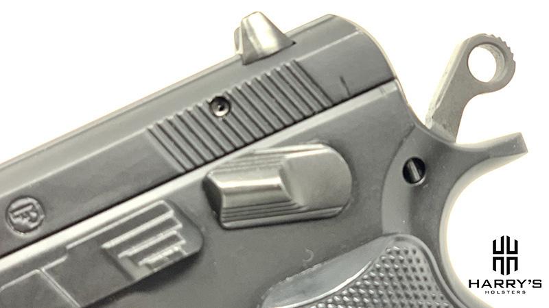 CZ 75c Safety Engaged
