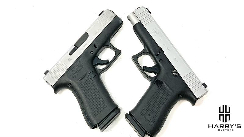Glock 43x vs Glock 48 X