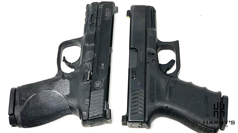 Glock 19 vs SW M_P 2.0 Compact T