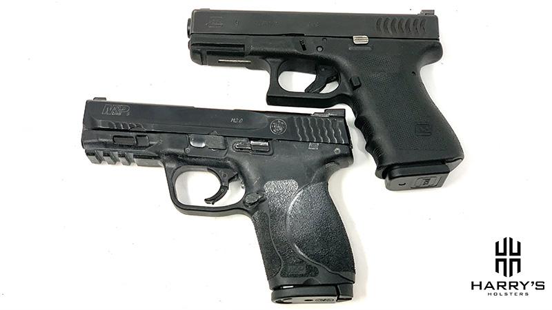 Glock 19 vs SW M_P 2.0 Compact top