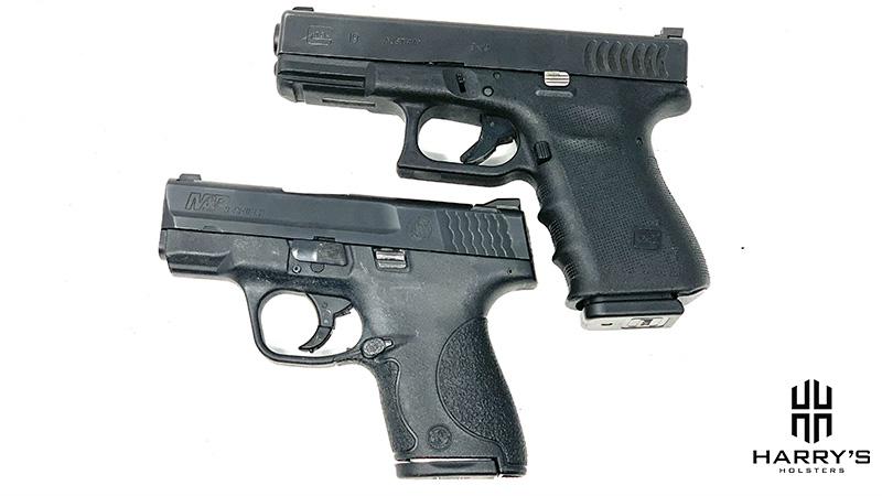 Glock 19 vs SW Shield top