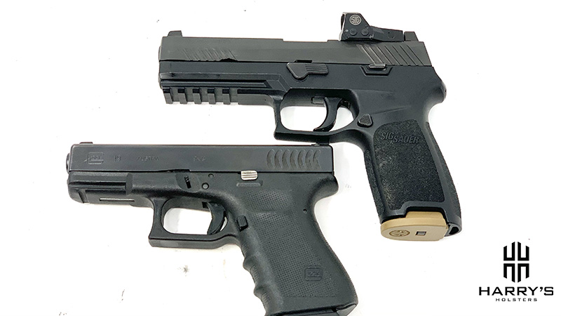 Glock 19 vs Sig P320 top