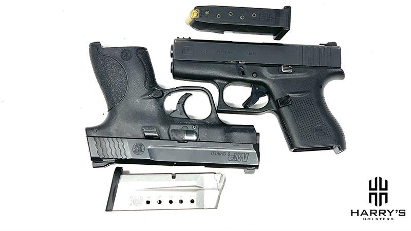 Glock 43 vs SW Shield Square