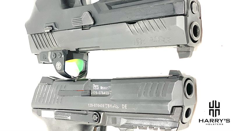 HK P30 vs Sig P320 Slides