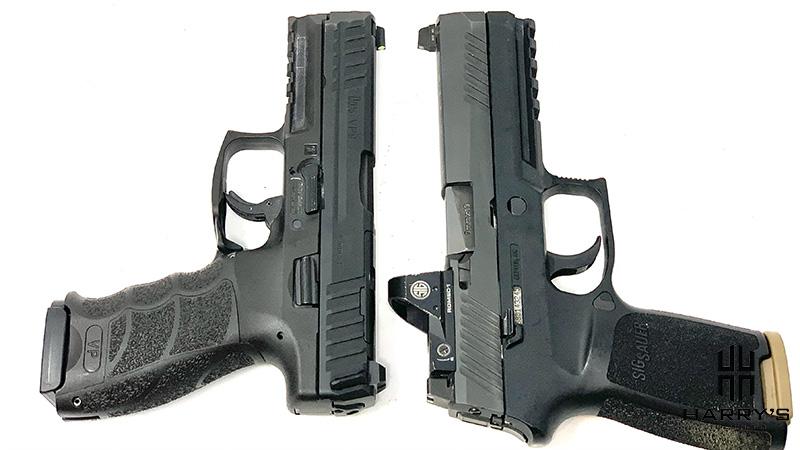 HK VP9 vs Sig P320 T