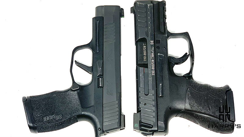 HK VP9SK vs Sig P365XL T