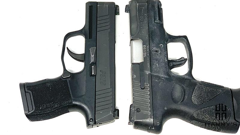 Sig P365 vs Taurus G2 T