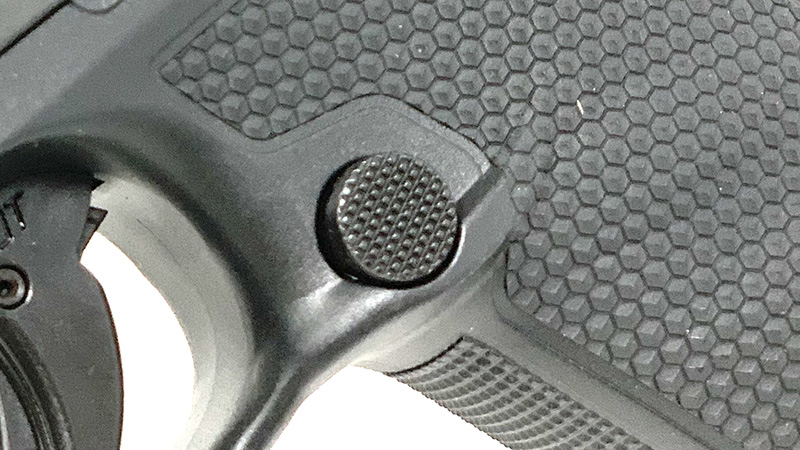 Walther PDP Mag Release