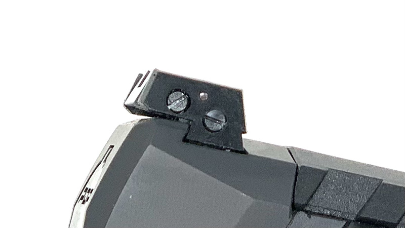 Walther PDP Rear Sight Side