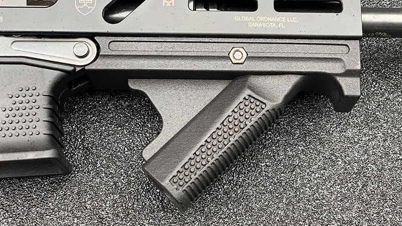 Stribog SP9A1 Angled Foregrip 3D Experiment