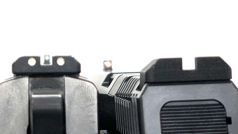 CZ P09 vs P10 CZ P09 Sight Picture