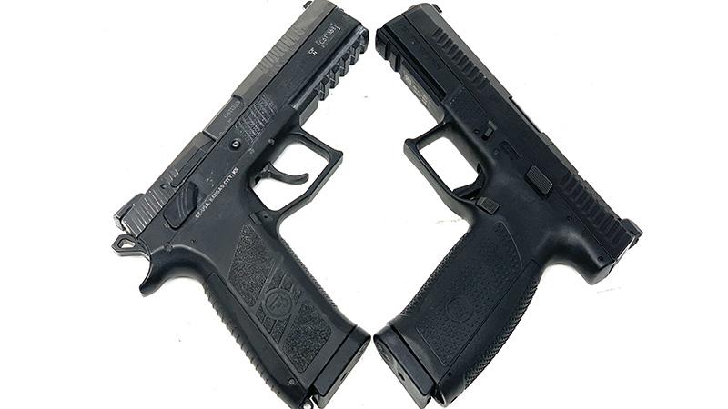 CZ P09 vs P10 X
