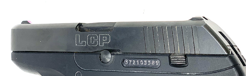 Ruger LCP vs LCP 2 LCP Slide