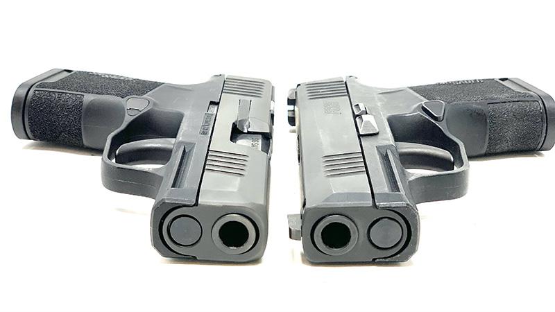 Sig P365 SAS vs P365 T Front