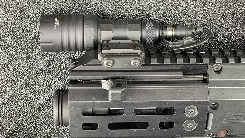 CZ Scorpion Micro Handguard Accessorized