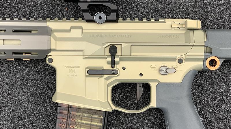 Honey Badger Pistol Reciever Set