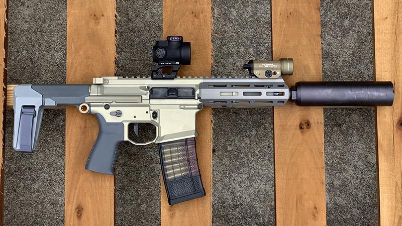Honey Badger Pistol Right Pallet