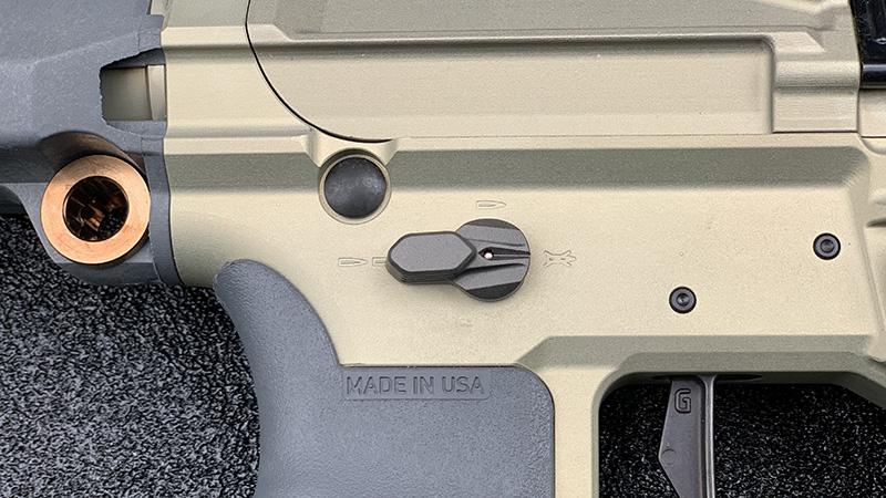 Honey Badger Pistol Short Safety Lever