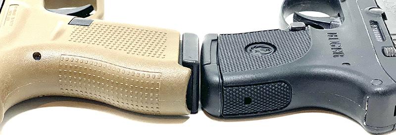 Glock 42 vs LCP backstraps