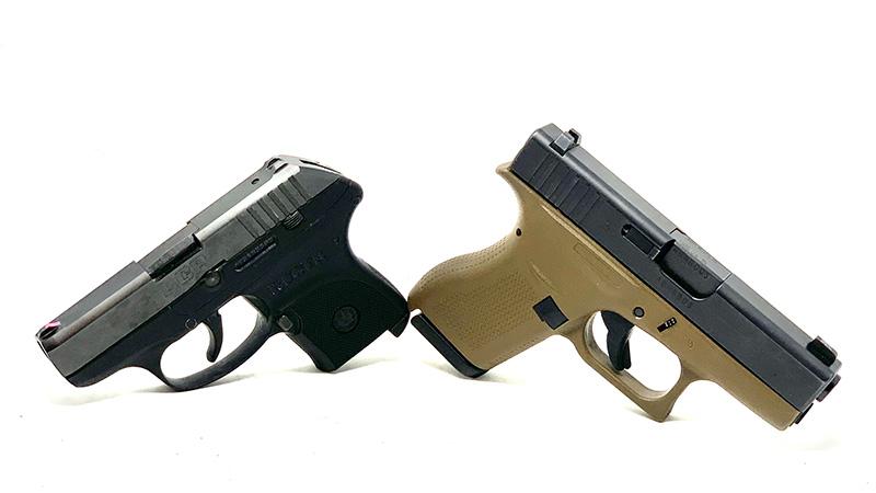 Glock 42 vs LCP facing away