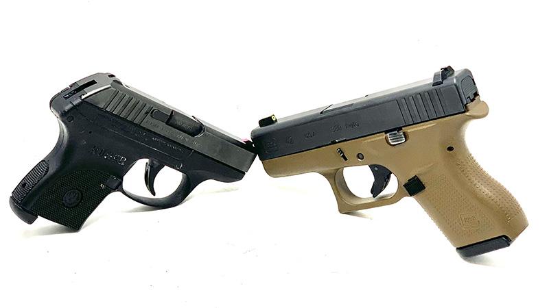 Glock 42 vs LCP facing