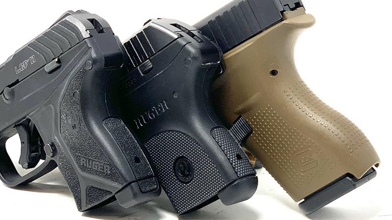 Glock 42 vs LCP grips