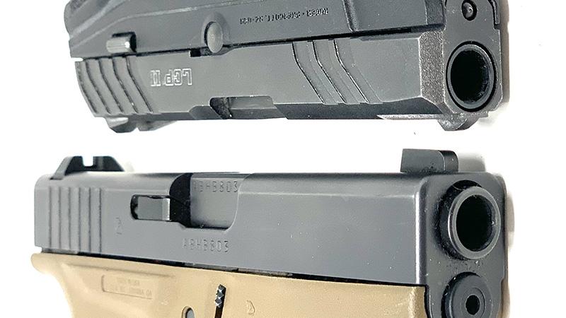 Glock 42 vs LCP2 slides