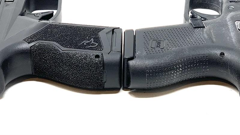 Glock 43 vs Taurus GX4 Backstrap