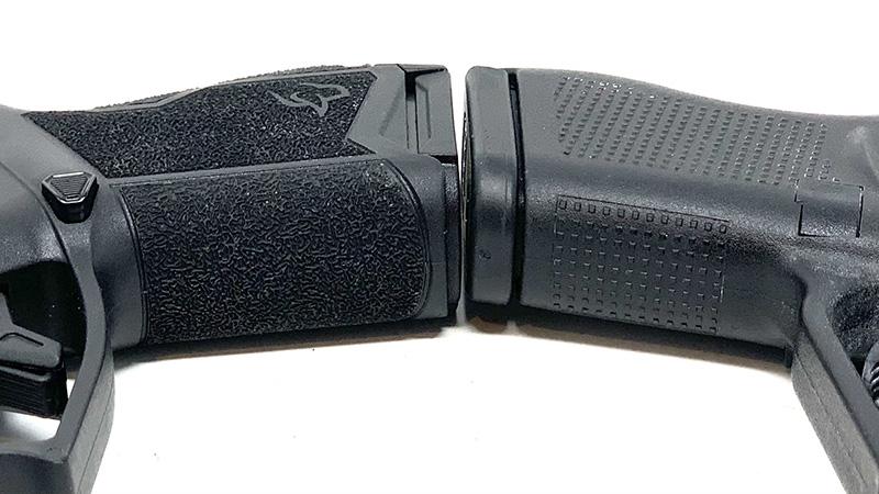Glock 43 vs Taurus GX4 Frontstrap