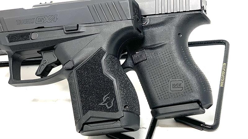 Glock 43 vs Taurus GX4 Grips