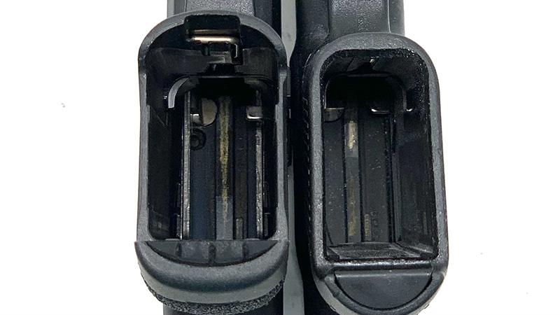 Glock 43 vs Taurus GX4 Magwell