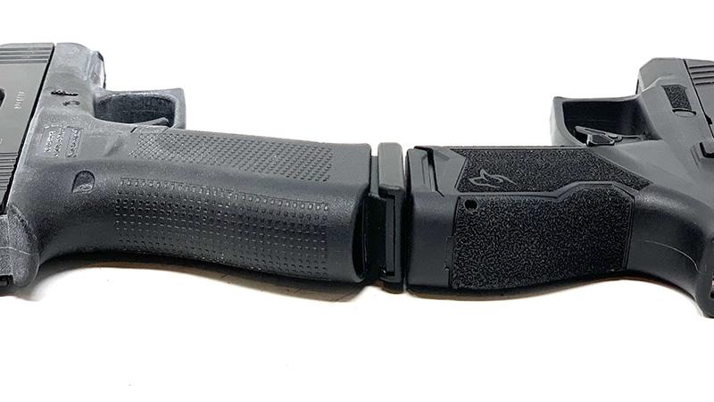 Glock 43x vs Taurus GX4 Backstraps