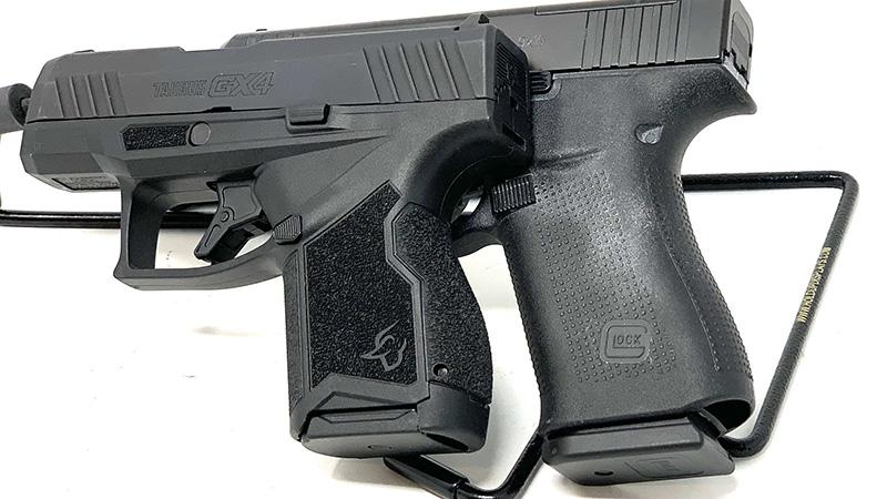 Glock 43x vs Taurus GX4 Grips