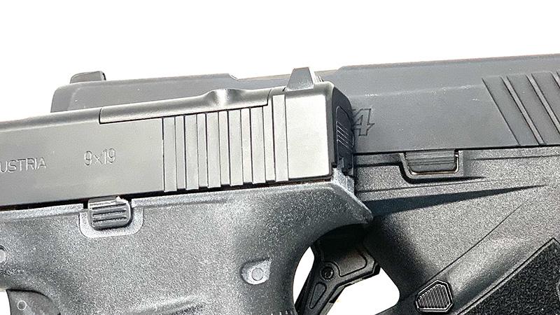 Glock 43x vs Taurus GX4 Slid Stop