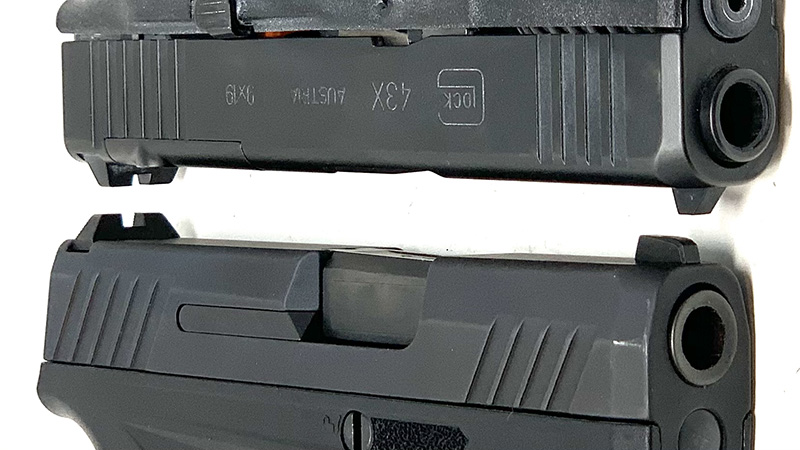 Glock 43x vs Taurus GX4 Slides